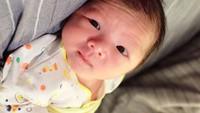 <p>Sayangnya, Balint saat itu belum bertemu ibunda secara langsung karena kondisi pernapasannya yang perlu bantuan medis. Tak lama usai melahirkan, ibunda tak sadarkan diri dan meninggal dunia. (Foto: Instagram @monaratuliu)</p>
