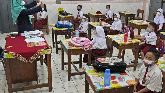 DKI Tambah 899 Sekolah Gelar Tatap Muka, Total 1.509