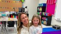 <p>Kakak Hillary Duff, Haylie Duff bahkan mengantarSi Kecil Ry sampai ke ruang kelasnya saat pertama kali masuk SD. (Foto: Instagram @hayleyduff)</p>