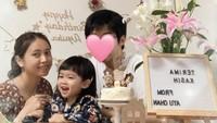<p>Ayuka Tsuji kini genap berusia 3 tahun, Bunda. Rica Leyona dan suaminya baru saja merayakan ulang tahun putri kecil mereka di Jepang. (Foto: Instagram @rica_tsuji)</p>