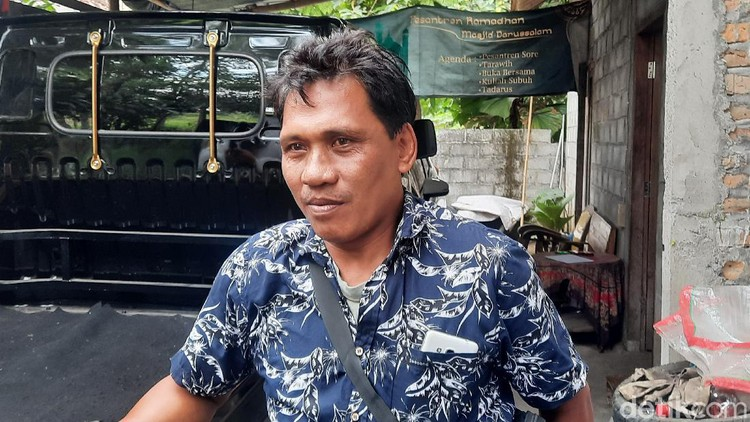Sumianto (51) warga Pundong III, Tirtoadi, Mlati, Sleman jadi miliarder gegara proyek Tol Yogya-Bawen di Sleman