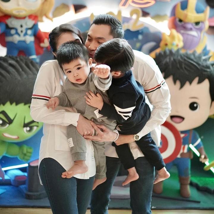 Ulang tahun anak Sandra Dewi