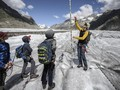 FOTO: Gletser Aletsch, Swiss Mencair karena Perubahan Iklim