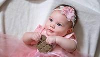 <p>Bayi berdarah campuran Kanada itu lahir pada 24 Maret 2021 dan diberi nama Blair Willow Pangalila. (Foto: Instagram @randpunk)</p>