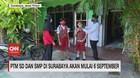 VIDEO: PTM SD & SMP di Surabaya Akan Mulai 6 September