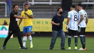 Polisi Bawa Pistol saat Cekcok dengan Pemain Argentina