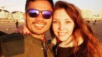 <p>Pasangan beda negara ini juga kerap membagikan momen kemesraan di media sosial, lho.(Foto: Instagram @clem_bule_minang)</p>