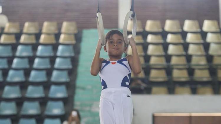 Ghifari Bambani, atlet gymnastic muda berbakat