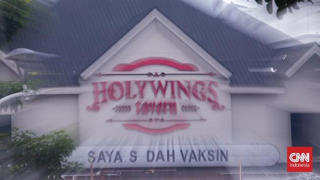 Langgar PPKM, Holywings Semarang Disegel Polisi