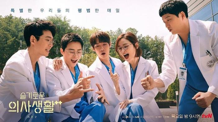 Berkat Drakor 'Hospital Playlist 2', Pendonor Organ di Korea Selatan Meningkat Pesat