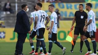 Anvisa: 4 Pemain Argentina Palsukan Data Masuk ke Brasil