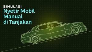 INFOGRAFIS: Simulasi Nyetir Mobil Manual di Tanjakan