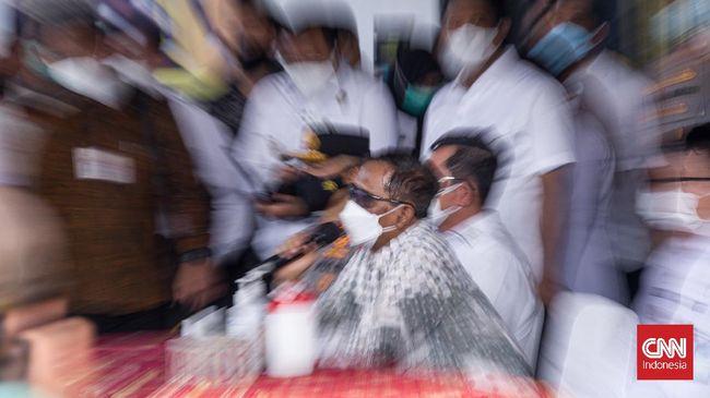 Menurut Mahfud, usai Lapas Tangerang kebakaran, penanganan kasus tindak pidana narkoba harus dibicarakan lebih lanjut.