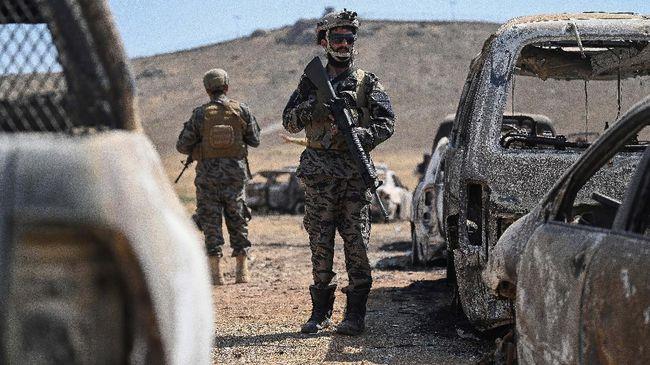 Tak hanya Taliban, ISIS kemungkinan mendapatkan senjata bekas Amerika Serikat (AS) selama melakukan invasi di Afghanistan.