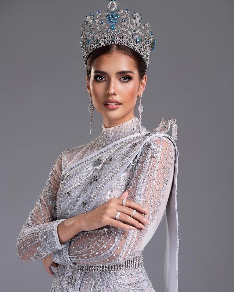 Potret Anntonia Porsild Miss Supranational yang Terseret di Video Hina Indonesia