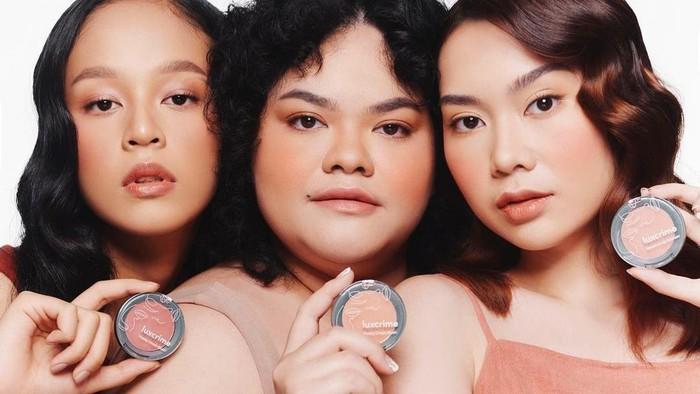 Luxcrime Rilis Produk Makeup Baru: Flushy Cheek Blush dan Warm-It-Up Bronzer, Cantik nan Natural!