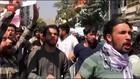 VIDEO: Pasukan Taliban Bubarkan Unjuk Rasa Anti Pakistan