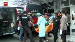 VIDEO: 41 Jenazah Korban Kebakaran Lapas Dibawa ke RS Polri