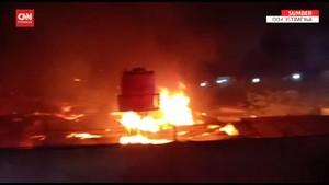 VIDEO: Detik-detik Lapas Kelas I Tangerang Terbakar, 41 Tewas