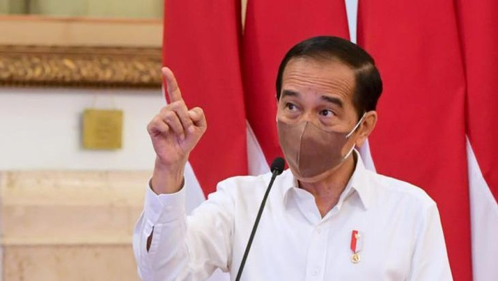 Jokowi bertemu bankir di Istana Kepresidenan, Jakarta, Kamis (9/9/2021).  (Dok: Biro Pers Sekretariat Presiden)