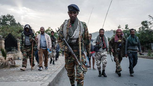 Salah satu warga Ethiopia mengungkapkan kekejaman pemberontak Tigray saat membantai 120 orang tak bersalah, termasuk perempuan dan anak-anak.