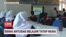 VIDEO: Siswa Antusias Belajar Tatap Muka