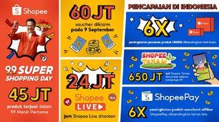 Kampanye 9.9, Pesanan Produk UMKM Shopee Naik 6 Kali Lipat