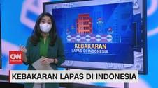 VIDEO: Kebakaran Lapas di Indonesia 5 Tahun Terakhir