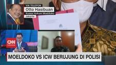 VIDEO: Moeldoko VS ICW Berujung di Polisi