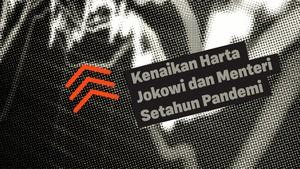INFOGRAFIS: Kenaikan Harta Pejabat Negara di Setahun Pandemi
