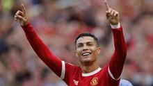 Gol Ronaldo Bisa Berlanjut di Man Utd vs Aston Villa
