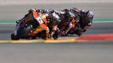 Hasil Moto2: Penuh Drama, Fernandez Jatuh dan Gardner Dihukum