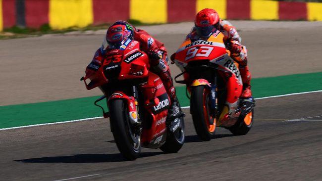 Francesco Bagnaia menyebut Marc Marquez favorit untuk memenangkan MotoGP Amerika Serikat 2021 pada 3 Oktober mendatang.
