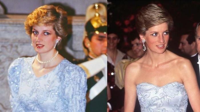 7 Tampilan Putri Diana Ketika Memakai Ulang Baju yang Sama! Ternyata Bukan Kate Middleton yang Pertama Melakukannya