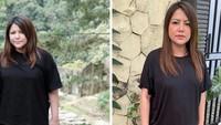 <p>Berawal dari rasa minder dengan bentuk badannya, Wina memulai program diet di bulan April 2021. Dalam waktu 13 minggu, beratnya berhasil turun 11 kg lho. (Foto: Instagram @winatalia)</p>