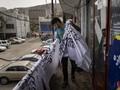 FOTO: Cerita Pedagang Bendera Saksi Pergantian Rezim Taliban