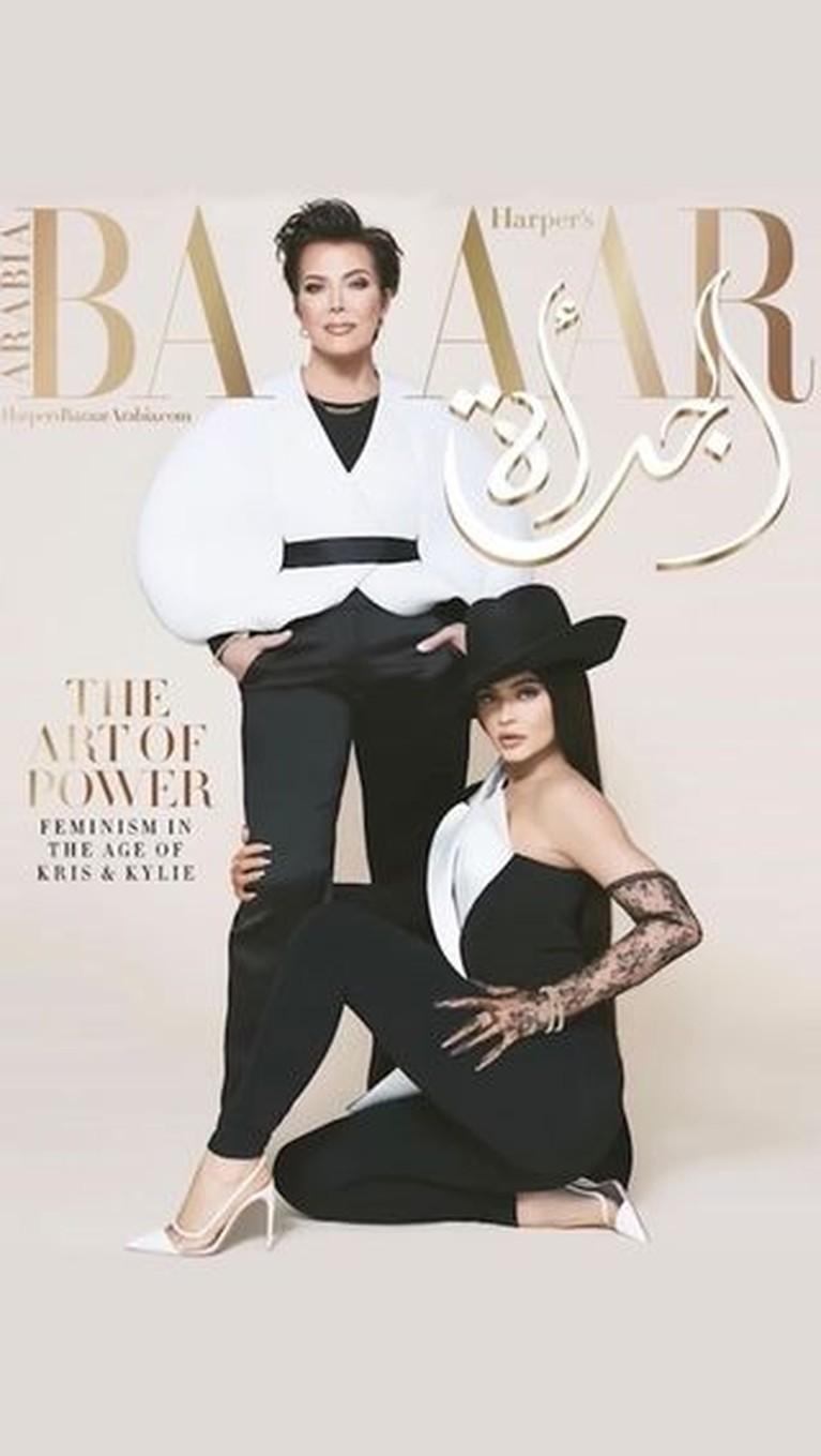 Gaya Tasya Farasya & Sang Ibunda Tiru Photoshoot Kylie dan Kris Jenner