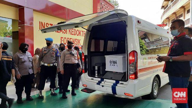 Polri masih menunggu sampel data DNA sebagai pembanding untuk mengindentifikasi WNA asal Nigeria korban kebakaran Lapas Tangerang.