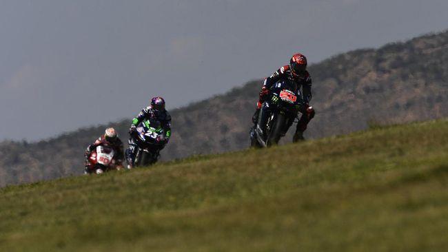Fabio Quartararo tinggal membutuhkan 53 poin lagi untuk mengunci gelar juara dunia MotoGP 2021.