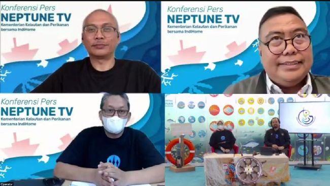 IndiHome resmi menjalin kerja sama dengan Kementerian Kelautan dan Perikanan (KKP) dalam menayangkan video-video tentang sektor kelautan dan perikanan.