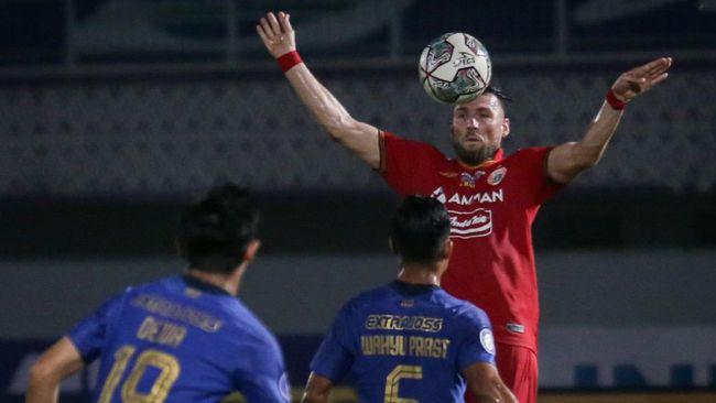 Persija Jakarta bermain imbang 1-1 melawan Persita Tangerang pada pekan kelima Liga 1 2021.