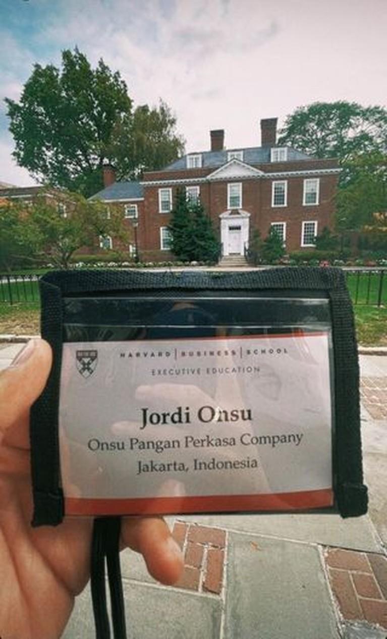 Jordi Onsu adik Ruben Onsu kini tinggal di Amerika untuk melanjutkan studi di Harvard University. Yuk kita intip potretnya!