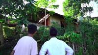 <p>Rumah seorang artis TikTok viral di media sosial, Bunda. Namun, sang pemilik rumah, Frendi, justru mendapat hujatan karena hanya tinggal di sebuah gubuk. (Foto: Youtube Boy William)</p>