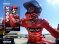 VIDEO: Lap Terakhir Bagnaia vs Marquez di MotoGP Aragon