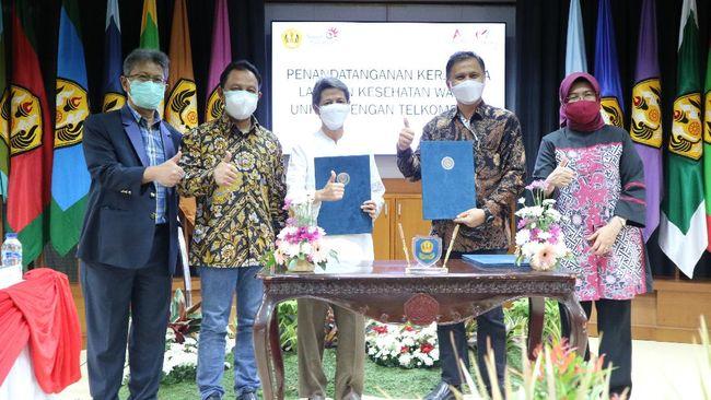 Telkom Indonesia menggandeng Universitas Padjadjaran untuk mendukung digitalisasi layanan kesehatan di lingkungan pendidikan.