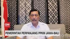 VIDEO: Pemerintah Perpanjang PPKM Jawa-Bali