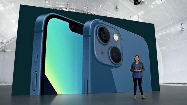 Ponsel iPhone 13 model mini hingga Pro Max mempunyai sejumlah perbedaan tersendiri.