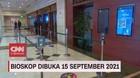 VIDEO: Bioskop Dibuka 15 September 2021