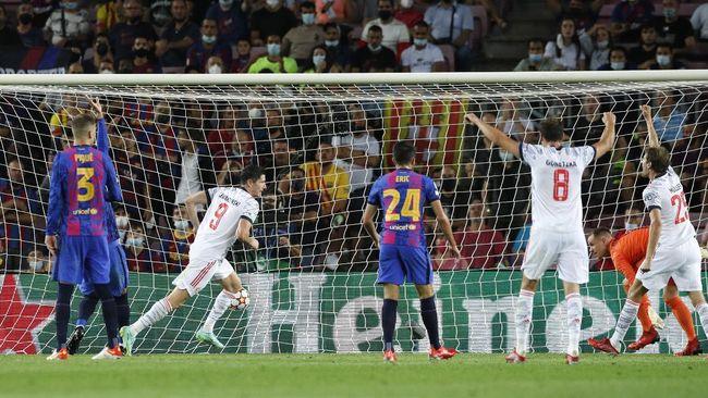 Sedikitnya ada tiga faktor krusial yang menjadi penyebab kekalahan Barcelona dari Bayern Munchen dengan skor 0-3 pada laga perdana Grup E Liga Champions.