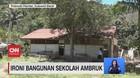 VIDEO: Ironi Bangunan Sekolah Ambruk